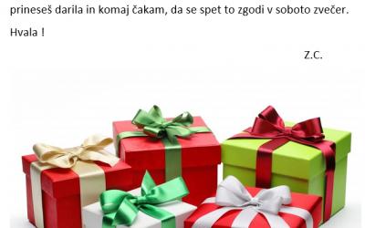 Pisma Miklavžu